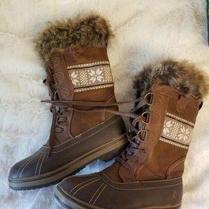 Like New: Winter fuzzy boots--Offers welcomed!